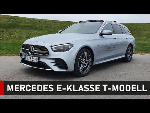 Der neue E-Kombi!  2020 Mercedes Benz E-Klasse T-Modell (Estate) 300de . Review, Fahrbericht, Test