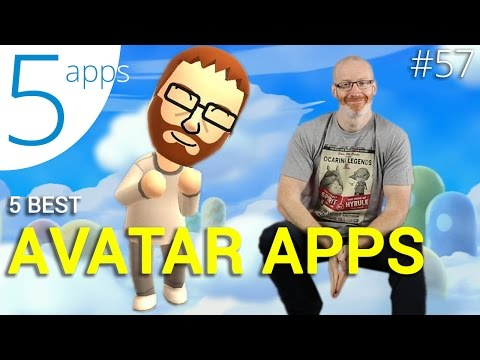 5 apps to build your own avatar