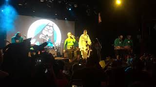 """The Aquabats and Puddles Pity Party perform """"Hello Goodnight"""" live"""