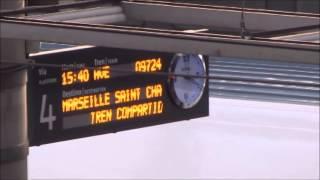 preview picture of video 'Primer AVE a Marsella en Atocha'