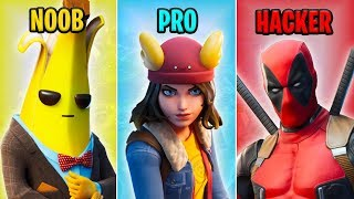 NOOB vs PRO vs HACKER - Fortnite Funny Moments #20