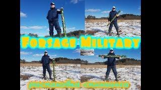 Forsage military 4 braid hard type