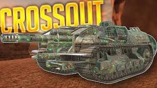 Crossout - E-25 Tank Destroyer Replica - Levikiller 2.0 Best Raid Build - Crossout Best Creations