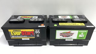 Walmart Battery vs. Costco Battery - Price and Warranty Comparison (with optional tips)