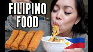 FILIPINO FOOD MUKBANG! -  ItsJudysLife Vlogs