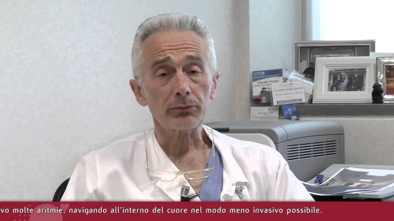 Intervista Prof. Claudio Tondo Coordinatore Area Aritmologia del Monzino - pt1