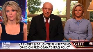 Finally, A Reporter Challenges Dick Cheney & It's... Megyn Kelly?
