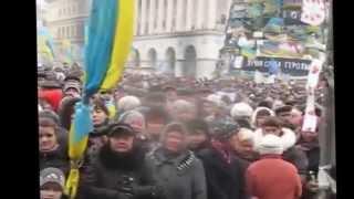 Paweł Kukiz na banderowskim Majdanie Sława Ukrainie