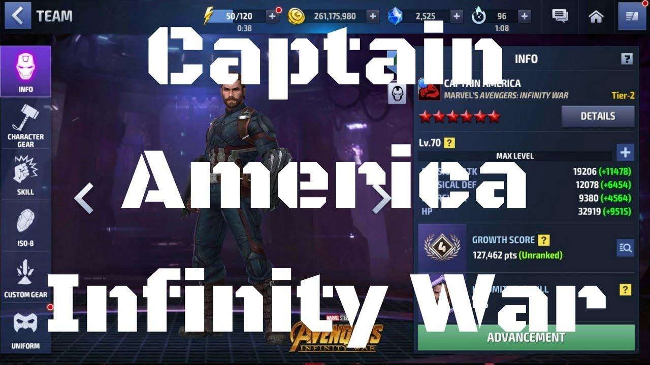 รีวิว Captain America ยู Infinity War