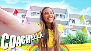 RAINBOW PALM SPRINGS HOTEL TOUR!🌵🌞🌈 Coachella 2018 - Video Youtube
