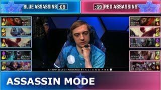 Assassin Mode Show Match (ft. Faker, Caps, WEIXIAO, Midbeast)   Day 2 2019 LoL All Star Event