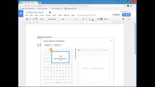 Chemical Equations In Google Docs