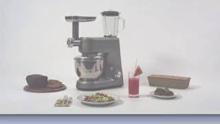 Кухонный робот Clatronic KM 3648 Германия от компании PolyMarket - видео