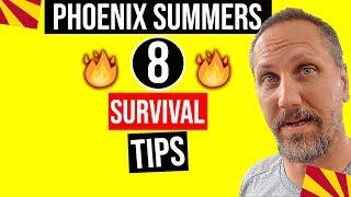 Arizona Heat: Surviving a Hot Phoenix Arizona Summer | Moving / Living In Arizona