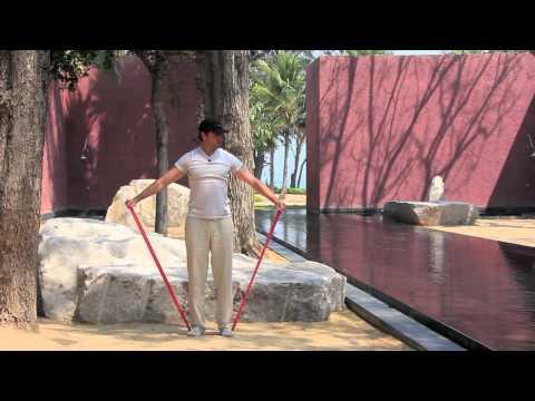 2 esercizi per riunirsi in uno stomaco su uno shelomentseva