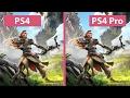 فيديو مقارنة للعبة Horizon Zero Dawn على البلايستيشن 4 العادي و البرو, هل جاء الوقت لشراء البلايستيشن 4 برو؟
