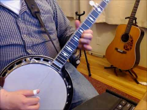 A video I made for a student demonstrating an advanced arrangement of an old Bluegrass tune