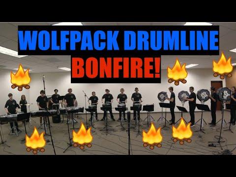 "Studio video of ""Wolfpack Drumline"" that Garrett directed."