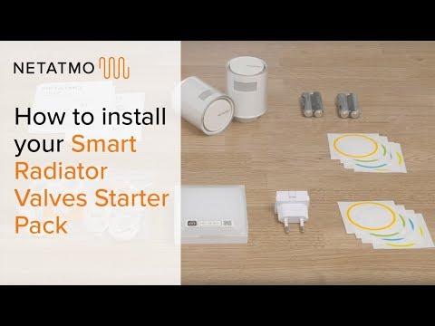Netatmo SmartRadiator Valves Thermostat