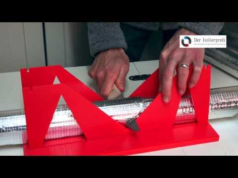 Montagevideo für Rohrisolierung