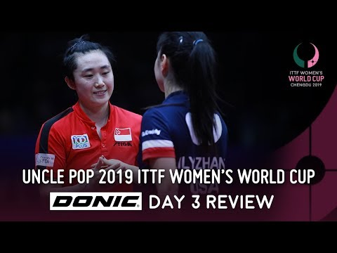 Records Broken | Day 3 Review by Donic | Uncle Pop 2019 ITTF Women's World Cup