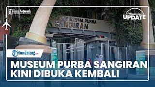 TRIBUN TRAVEL UPDATE: Museum Purba Sangiran Sragen Akhirnya Dibuka untuk Umum Kembali
