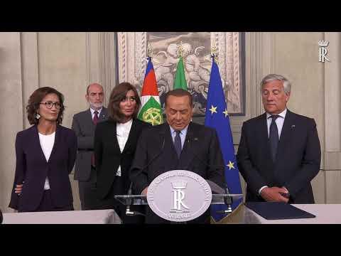 CONSULTAZIONI GRUPPO PARLAMENTARE FORZA ITALIA – BERLUSCONI PRESIDENTE