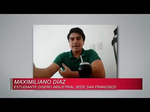 Panorama Universitario 05/05/2020 Cabina sanitizante - Maximiliano Díaz