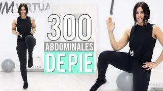 300 Abdominales de pie | Ejercicios para abdomen fuerte