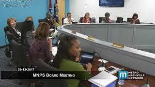 09/12/17 MNPS Board Meeting