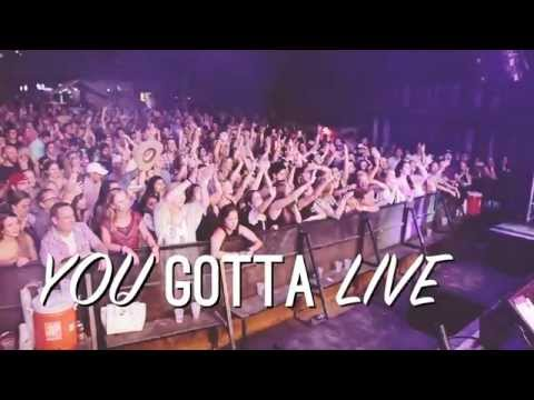 Josh Abbott Band - Live It While You Got It Lyric Video