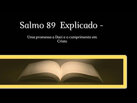 Salmo 89 explicado - Uma promessa a Davi e o cumprimento em Cristo #Ensinobblicoeorao #biblico