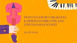 Kammeransambli õpilaste online lõpueksam-kontsert