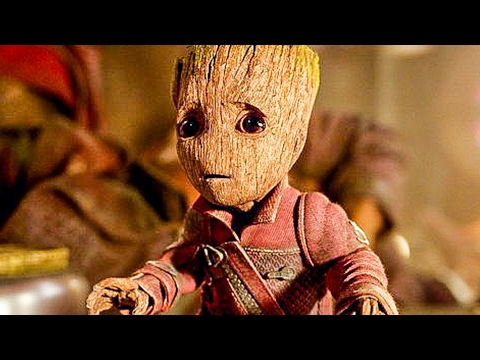 GUARDIANS OF THE GALAXY 2 All Trailer + Movie Clips (2017)