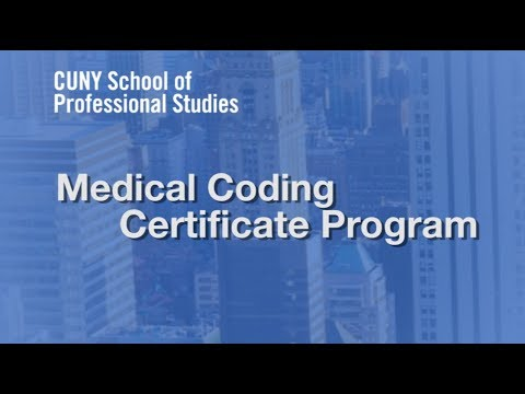 Online Certificate in Medical Coding at CUNY SPS - YouTube