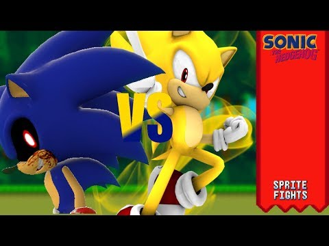 Modern Super Sonic v  Sonic Exe (Sprite Animation) | Youtube Search