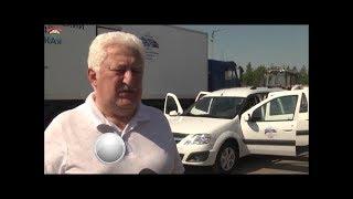 Тосненские телевидение: Арчил Лобжанидзе в сюжете о пополнении автопарка Тосненской ЦРБ