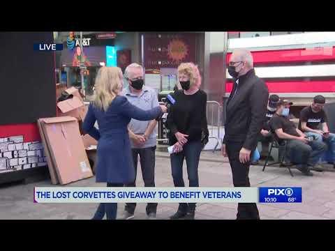 WPIX 11 11 2020 | Corvette Heroes