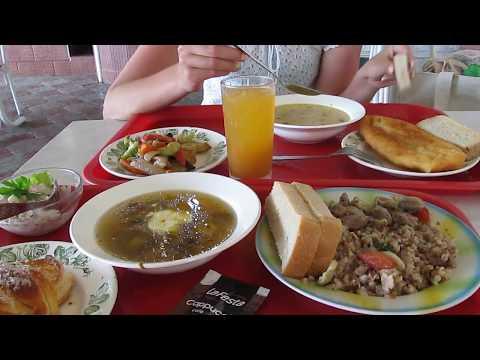 Лазаревское 2017 | Цены на обед в столовой Русский Чай