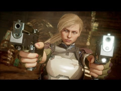 Mortal Kombat 11 - Cassie Cage vs Sonya Blade - All Intro Dialogues