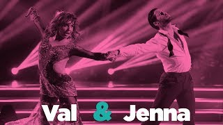 Dancing With The Stars' Val Chmerkovskiy and Jenna Johnson on finding love