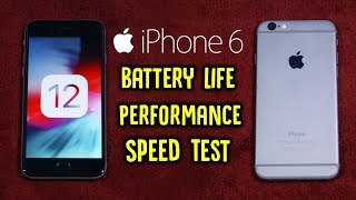 iOS12oniPhone6:ShouldYouUpdate?BatteryLife,Performance&SpeedTest