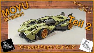Megastarker neuer Hersteller   Teil 2 des MOYU Lambo Concept Cars MY88001