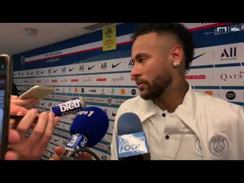 La réaction de Neymar aux sifflets du Parc après PSG-Strasbourg (3-0)