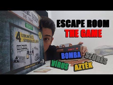 Escape Room: The Game - társasjáték bemutató - Jatszma.ro