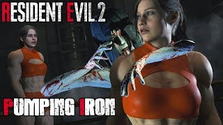 Pumping Iron No Not Chief Irons - Resident Evil 2 Biohazard 2 Mods