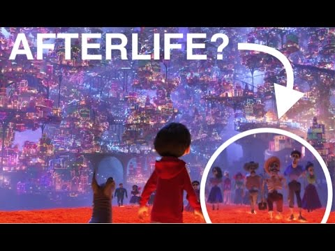 Is there an afterlife in the Pixar universe?