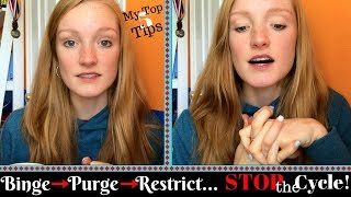 How To STOP the Binge/Purge Cycle\\ Eating Disorder Recovery