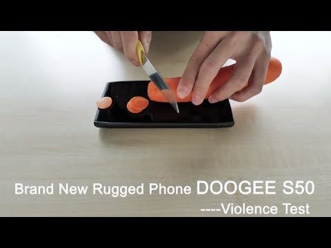 Brand New Rugged Phone DOOGEE S50 -Violence Test