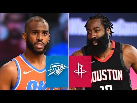 Oklahoma City Thunder vs. Houston Rockets [GAME 1 HIGHLIGHTS] | 2020 NBA Playoffs